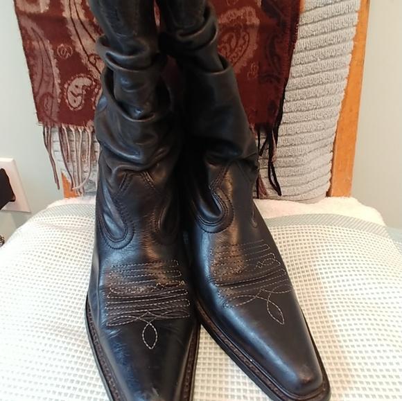 Black Cowboy Boots | Poshmark